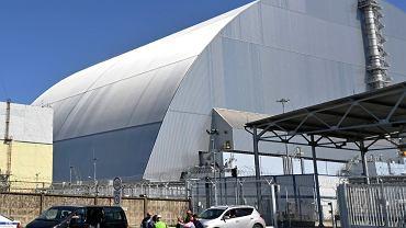 Nowa osłona nad zniszczonym reaktorem w Czarnobylu