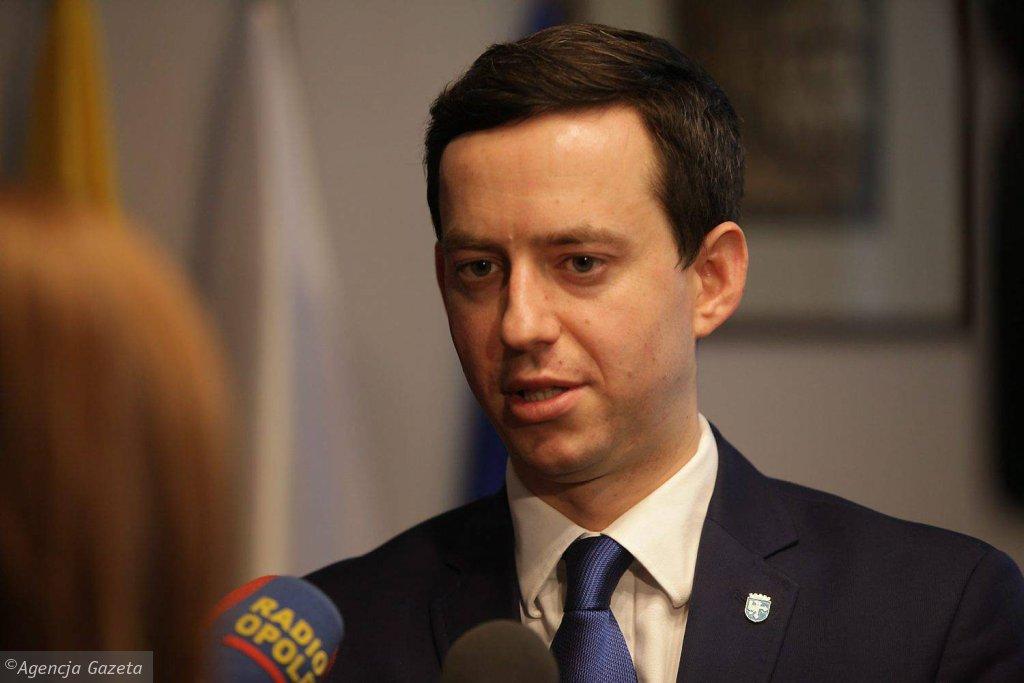 Marcin Ociepa, przewodniczący rady miasta