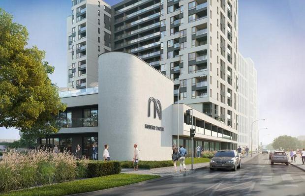 Wizualizacja inwestycji Modern Tower