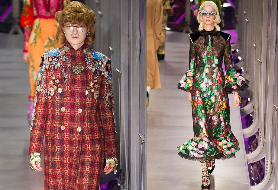 Gucci - kolekcja jesień/zima 2017-2018