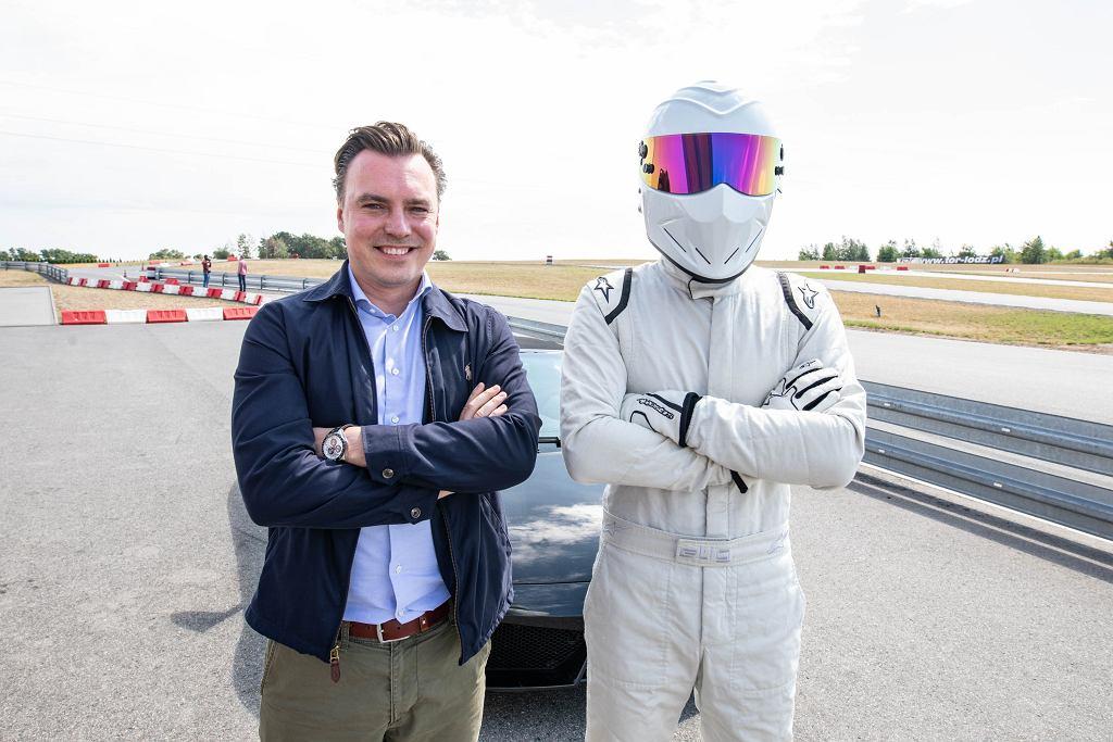 Tomasz Korniejew, redaktor naczelny Moto.pl i The Stig z Top Gear