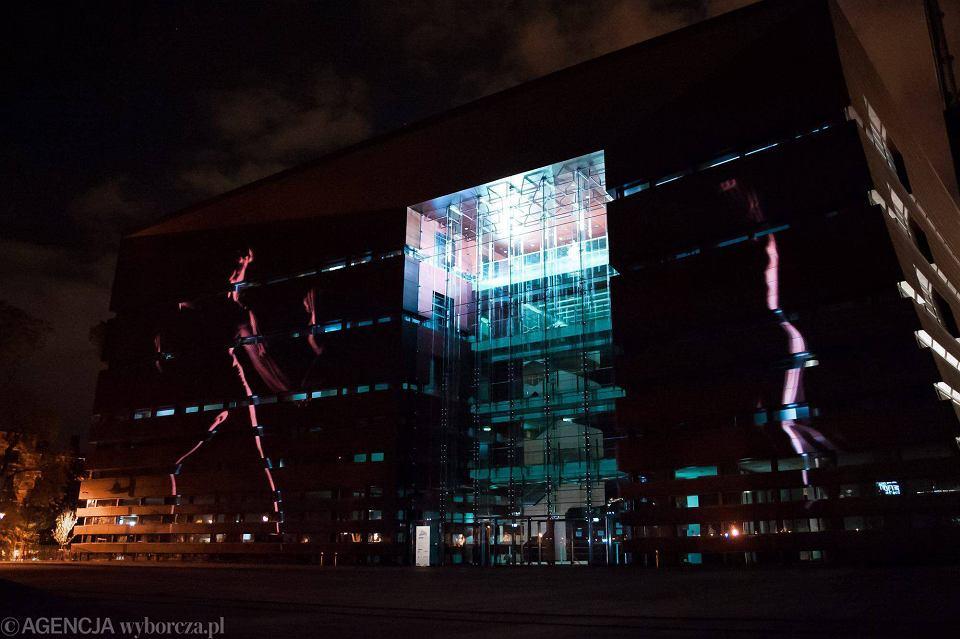 Zdjęcie numer 11 w galerii - Narodowe Forum Muzyki jako wielki ekran. Zobacz nocny mapping [WIDEO]