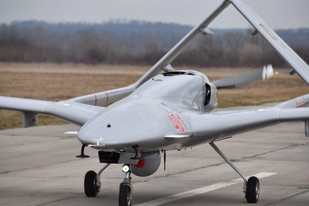 Bayraktar TB2 w barwach lotnictwa Ukrainy