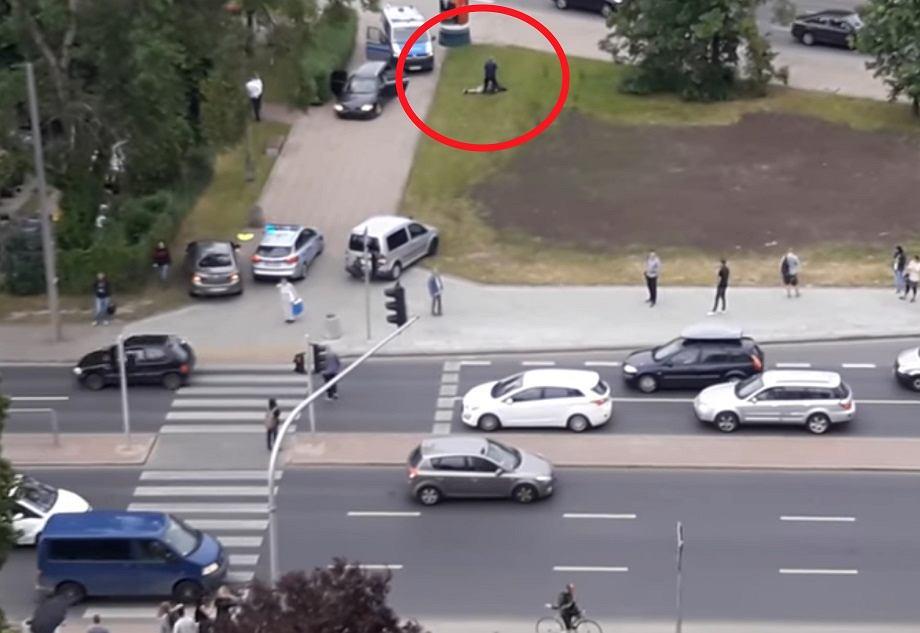 Pościg policjantów za napastnikami