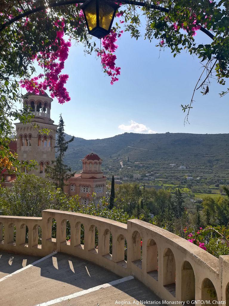 Egina, Klasztor Agios Nektarios