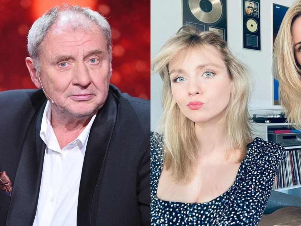 Andrzej Grabowski z córkami