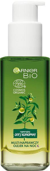 Garnier Bio olejek multi-naprawczy na noc z konopią siewną 30 ml