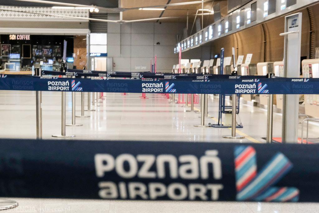 Lotnisku w Poznaniu