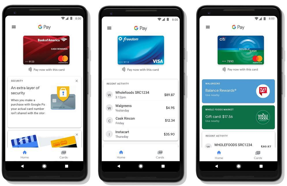 Google Pay zastępuje Android Pay