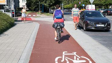 Nowe drogi rowerowe w Katowicach