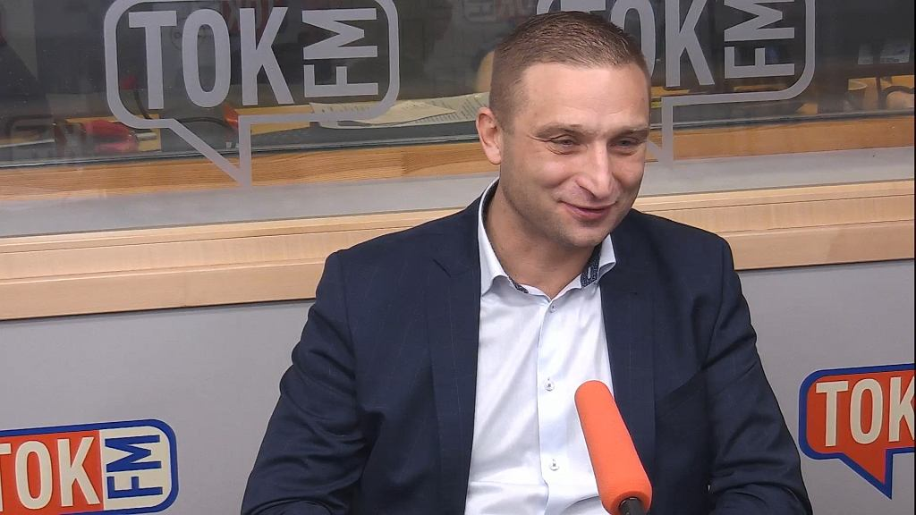 Robert Bąkiewicz w TOK FM
