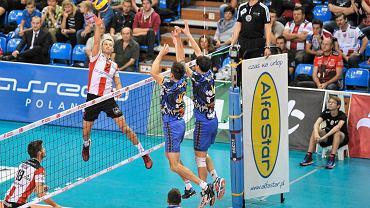 MKS Banimex Będzin w meczu z Asseco Resovią (1:3)