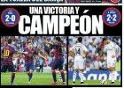 Liga hiszpańska. Prasa: Barcelona prawie mistrzem, Real umarł z honorem