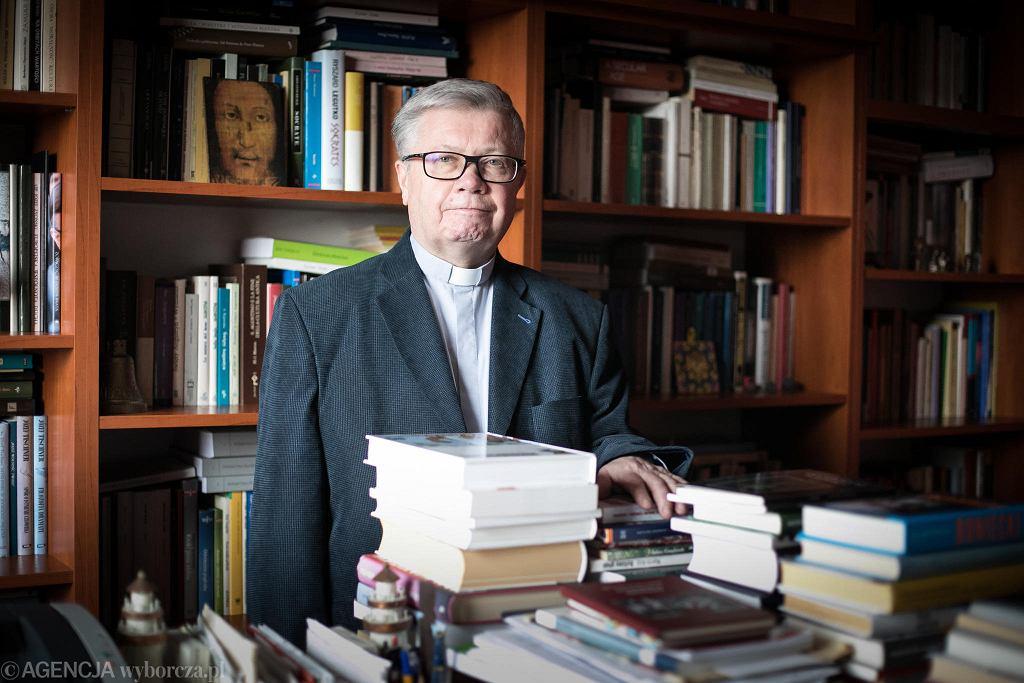 Ks. prof. Alfred Wierzbicki, wykładowca KUL