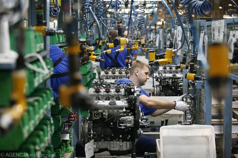 Fabryka silników samochodowych w Tychach.