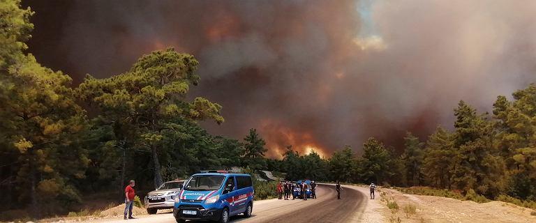 """Pożary w południowej Turcji. """"Ogień zajął hotel"""". Nie żyją trzy osoby"""