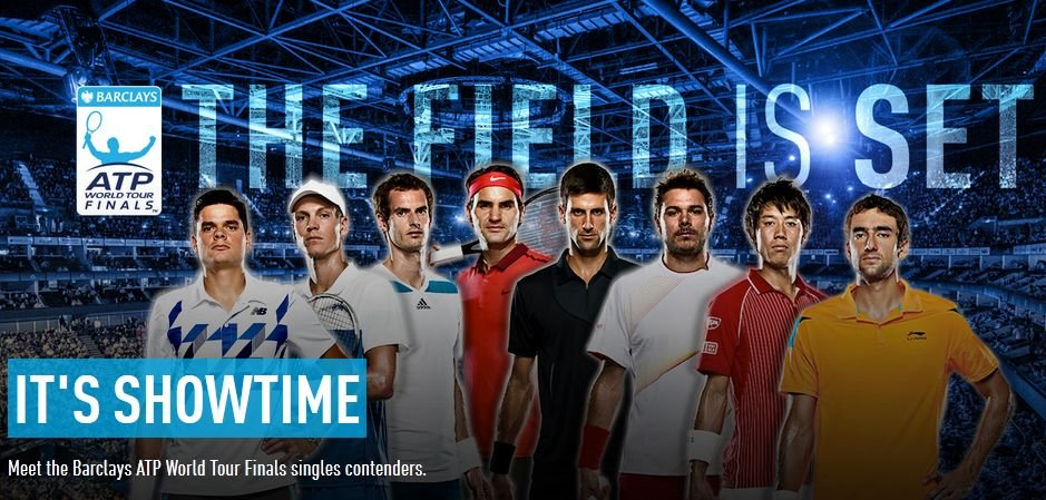 Ósemka finalistów ATP World Tour Finals