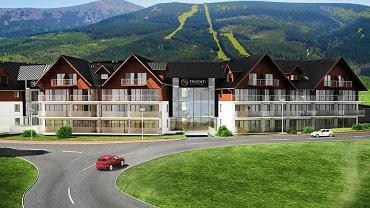 W Karpaczu przy ulicy Karkonoskiej 13 trwa już budowa Triventi Mountain Residence