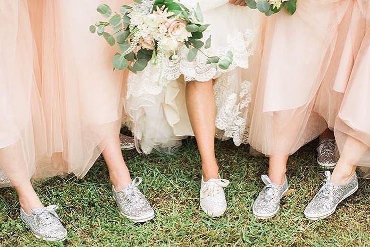 Czy ślubne trampki to dobry pomysł?