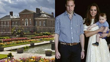 Księżna Kate, książę William, Kensington Palace