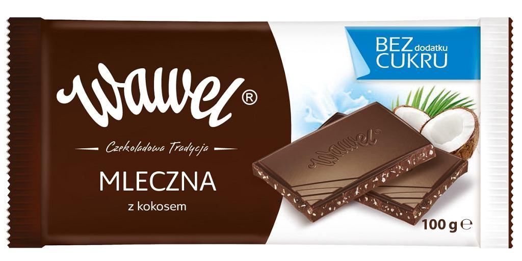 Wawel - Czekolada mleczna z kokosem