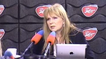 Małgorzata Gosiewska w Radiu ZET