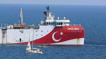 Turecki statek 'Oruc Reis'