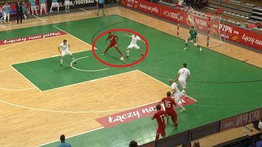 Szalony gol w meczu Polska - Gruzja