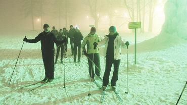 Nocne biegówki w Zakopanem - otwarcie trasy miało miejsce 24 stycznia
