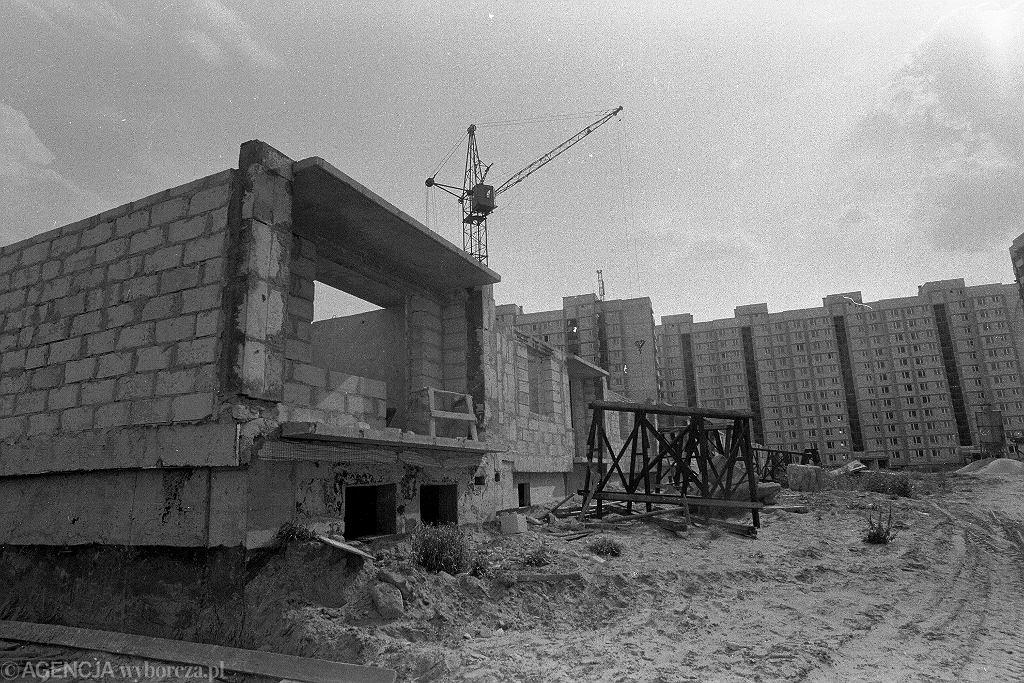 Bloki w budowie