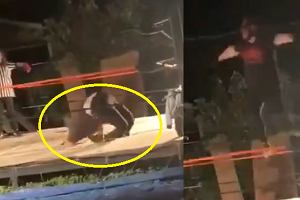 Wstrząsające nagranie z ringu! Zawodnik złamał się jak zapałka [WIDEO]