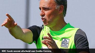 Emilio Ferrera zwolniony