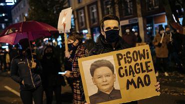 Protesty po wyroku TK dot. aborcji