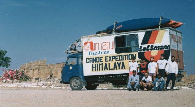 Wyprawa ''Bystrza'' w na himalajskie rzeki w 1986 roku