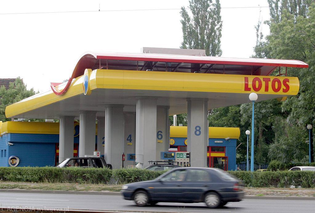 Stacja benzynowa Lotos