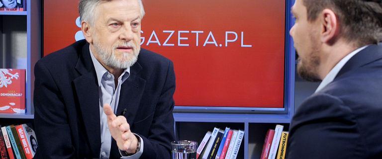 Zybertowicz w Gazeta.pl: Staniszkis bawi się w gołosłowne spekulacje