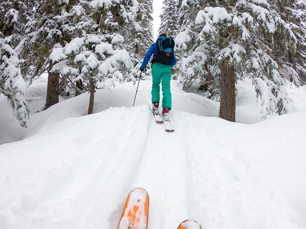 W regionie każdy znajdzie coś dla siebie, można np. wybrać się na skitoury