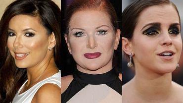 Eva Longoria, Marta Grycan, Emma Watson.