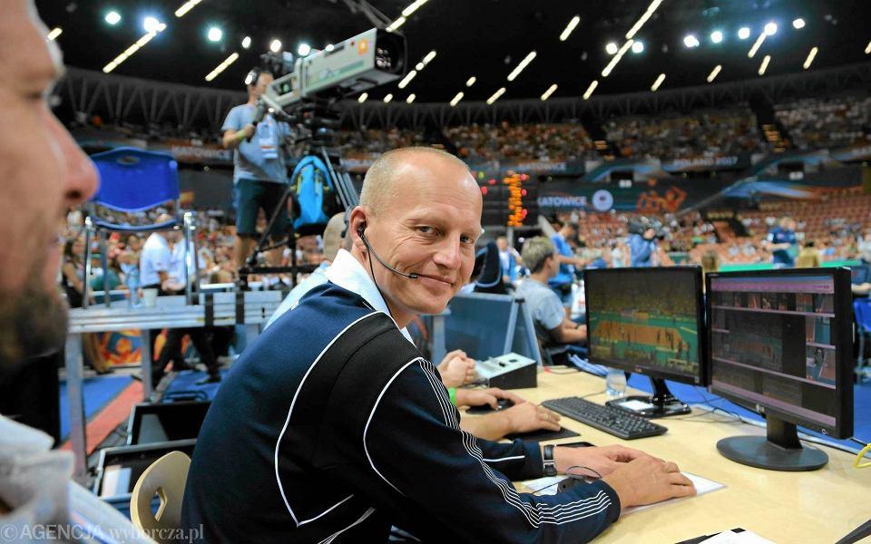 Wojciech Maroszek był sędzią challengowym podczas meczu Włochy - Belgia. W niedzielę poprowadził finał