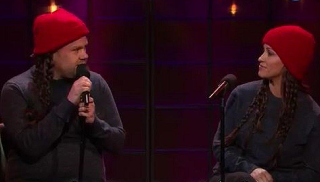 James Corden i Alanis Morissette śpiewają nową wersję
