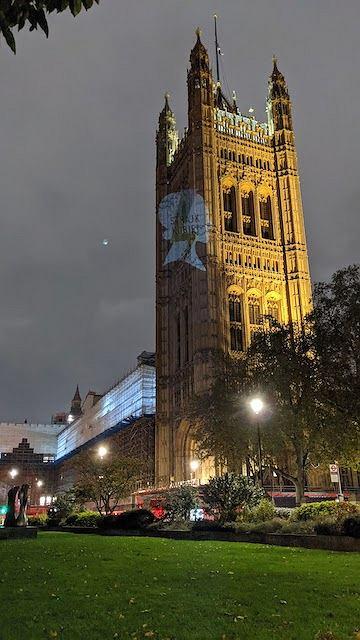 Londyn. Akcja solidarnościowa ze Strajkiem Kobiet