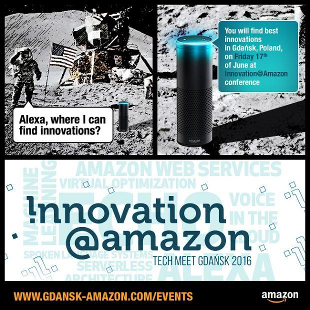 Innovation@Amazon - już 17 czerwca w Gdańsku