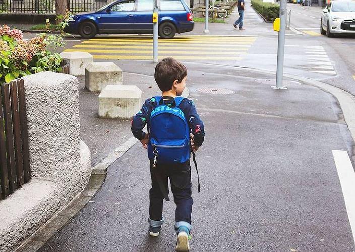 Pierwszy dzień Antka w przedszkolu. Tu są obowiązkowe od czwartego roku życia.
