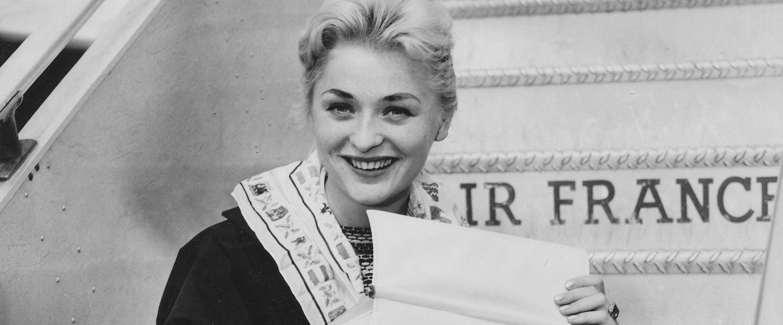 Alicja Bobrowska, zwyciężczyni pierwszych powojennych wyborów Miss Polonia (fot. archiwum prywatne)