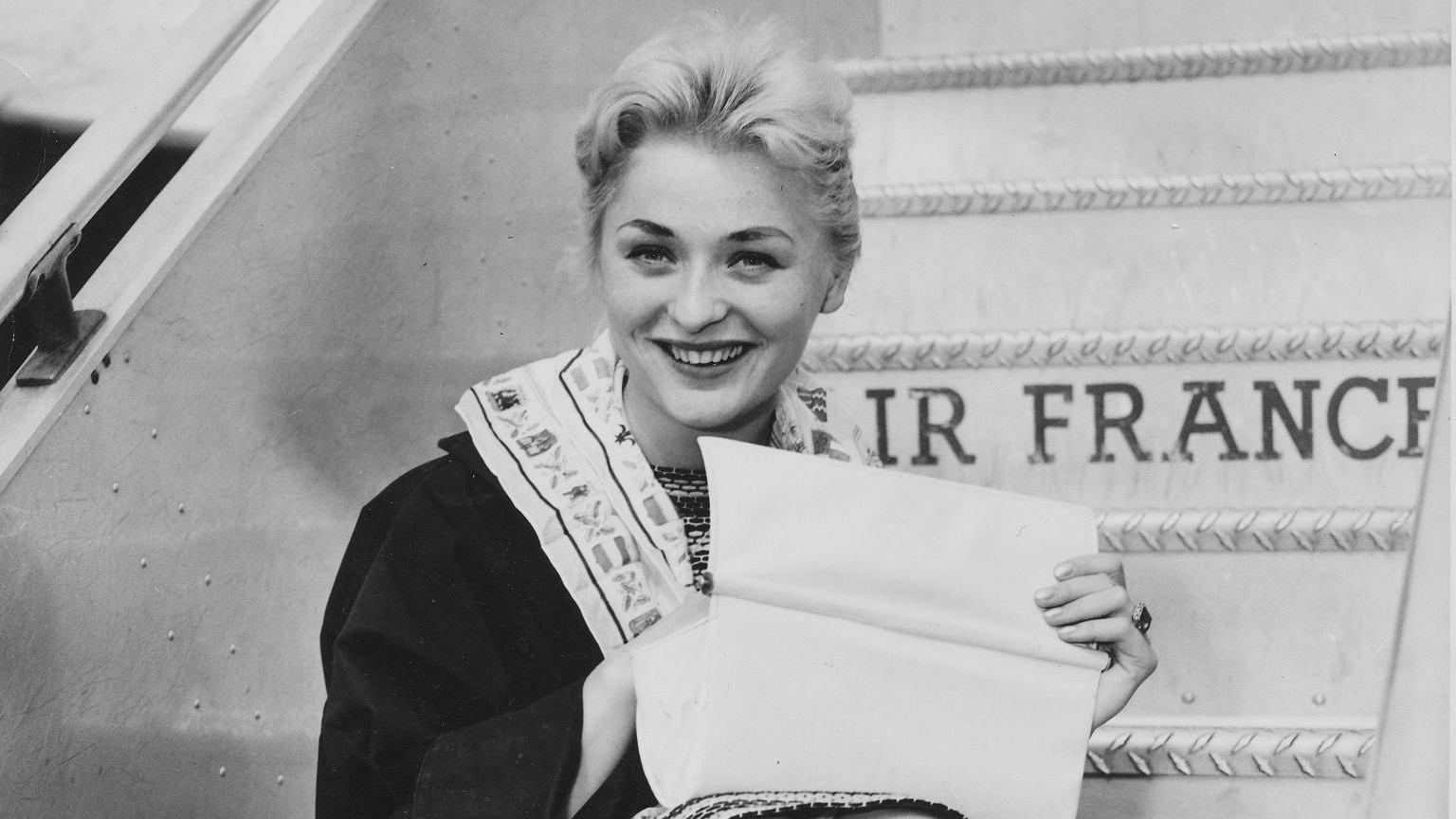 Alicja Bobrowska, zwyciężczyni pierwszych powojennych wyborów Miss Polonia