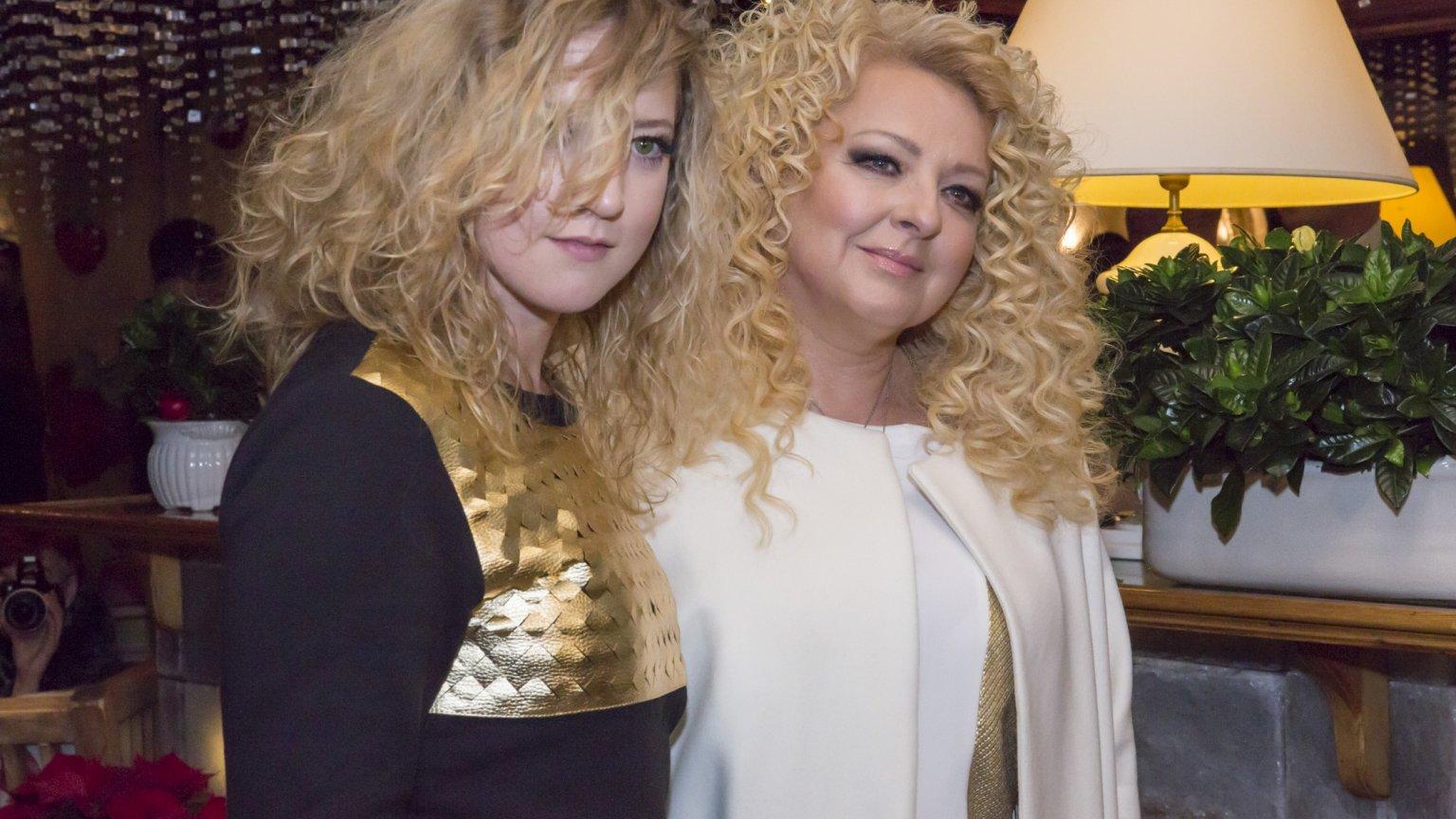 Magda Gessler z córką podczas przyjęcia z okazji wydania ksiązki