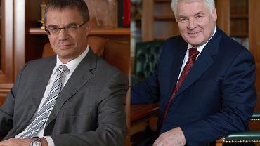 Trzęsienie ziemi w Gazpromie. Z koncernem nagle pożegnał się Aleksandr Miedwiediew (z lewej), wiceprezes Gazpromu odpowiedzialny za eksport gazu z Rosji. Nagle odchodzi też wiceprezes Walerij Gołubiew (z prawej), odpowiedzialny za sprzedaż gazu w Rosji.