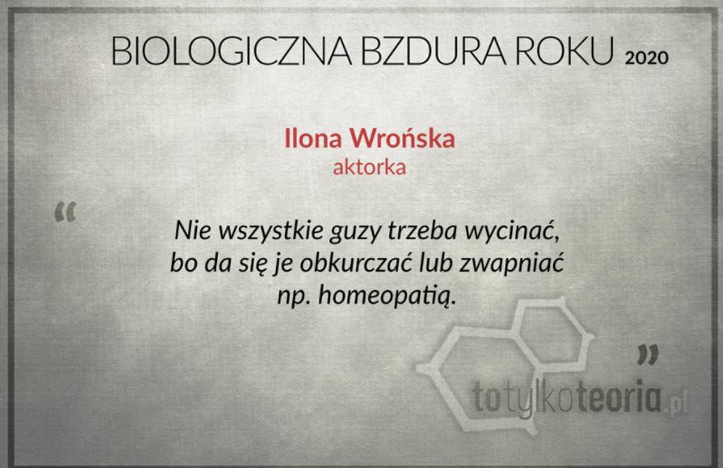 Ilona Wrońska nominowana