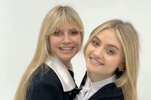 16-letnia córka Heidi Klum stawia pierwsze kroki w show-biznesie. Leni podąża śladami swojej słynnej mamy supermodelki