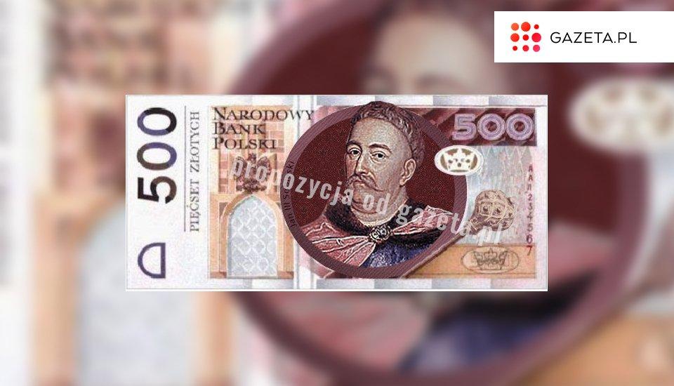 Tak - naszym zdaniem - może wyglądać nowy banknot 500 złotych z Janem III Sobieskim. TO TYLKO NASZA PROPOZYCJA, PROJEKT NIE MA NIC WSPÓLNEGO Z NBP